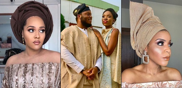 Tania Omotayo, Lola OJ, Lala Akindoju, others turned up for Adekunle Gold and Simi's wedding
