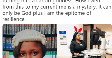 Meet Nigerian Lady Who is a Lawyer, Now Training as a Medical Doctor