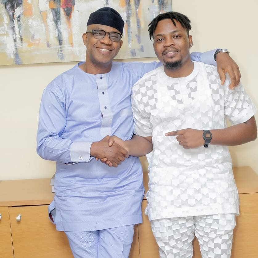 """A Proud Son Of Ogun State"" - Ogun Governor-elect, Dapo Abiodun With Olamide"